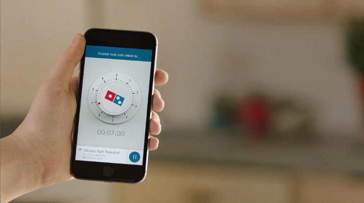 Dominos Zero-Click Ordering
