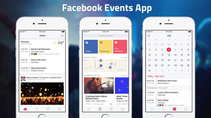 Facebook Events App