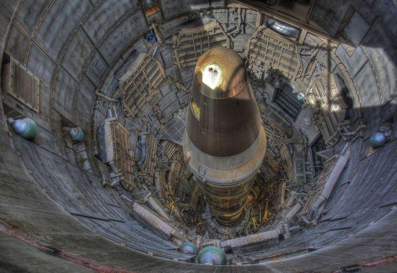 nuclear missile silo