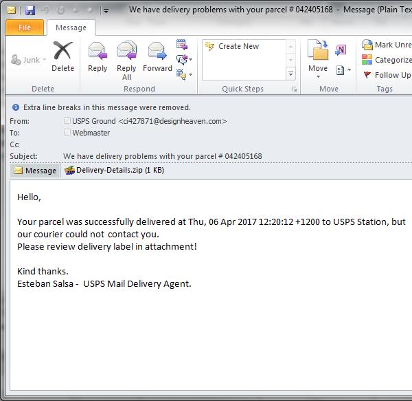USPS-malware